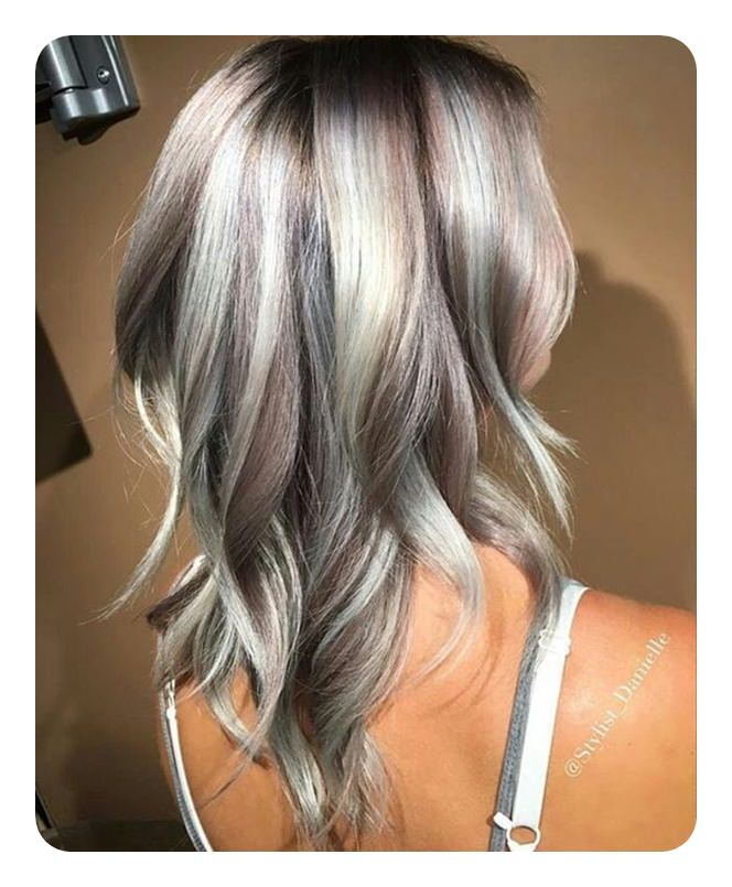 104 Long And Short Grey Hairstyles 2018 Style Easily