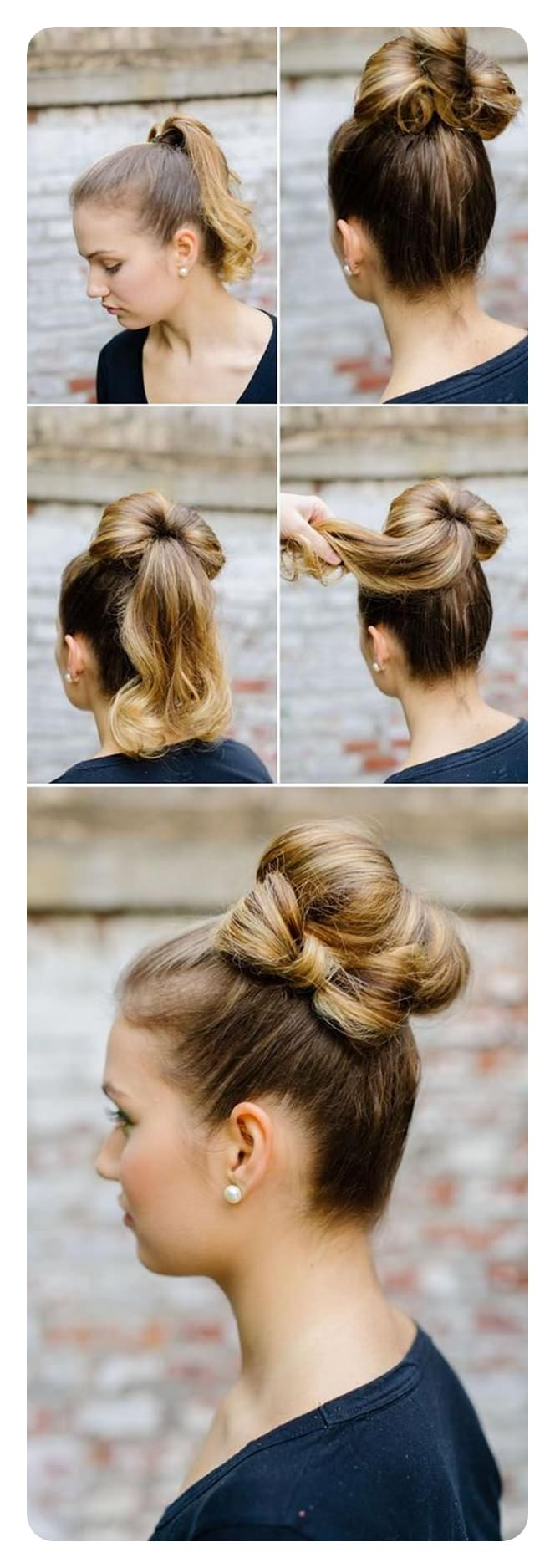 64 Easy Sock Bun Hairstyles You Should Definitely Try - Style Easily