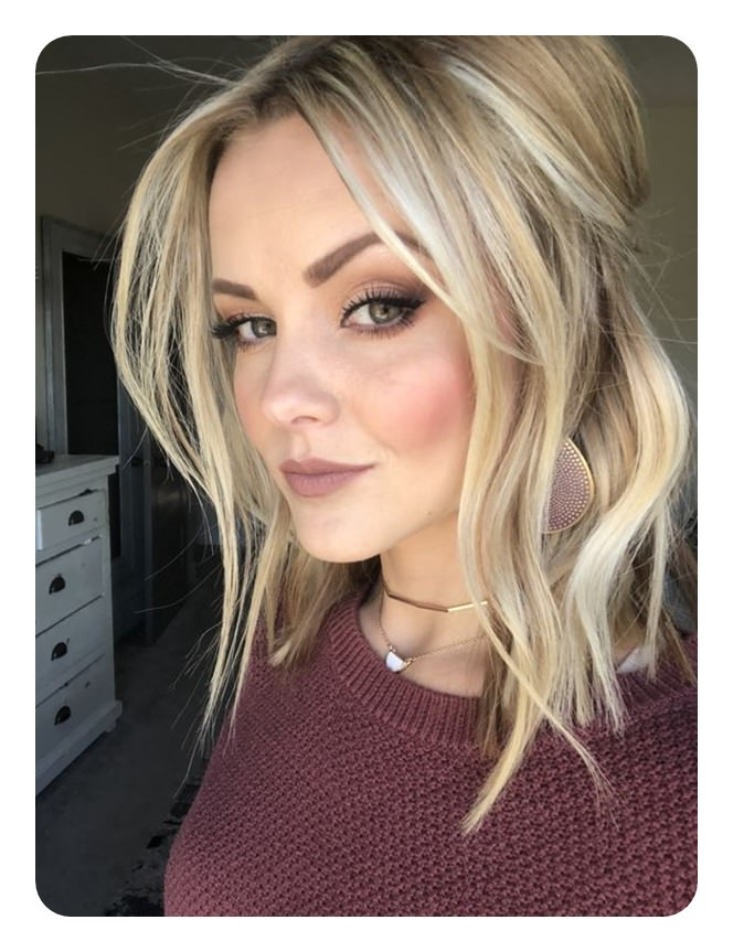 66 Beautiful Long Bob Hairstyles With Layers For 2020 ...