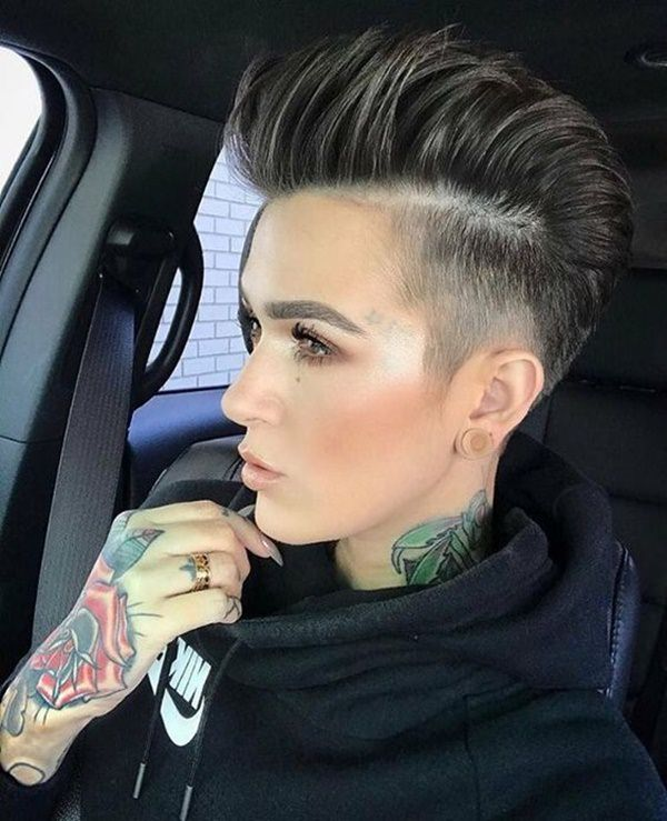 Side Shaved Hairstyles To Set You Aside From Everyone Else!