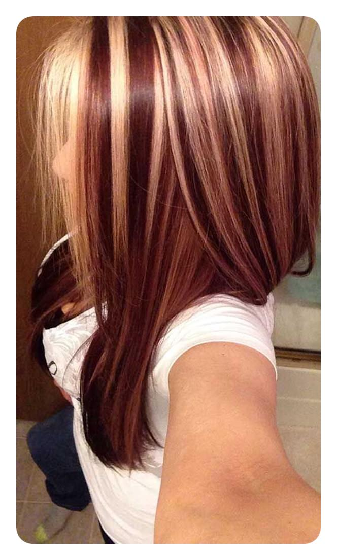 Did You Pick Your Favorite Red Hair With Highlights Color And Get Some Or Lowlights
