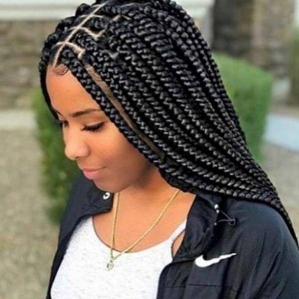 110 Cool Box Braids Hairstyle For Stylish Women Style Easily