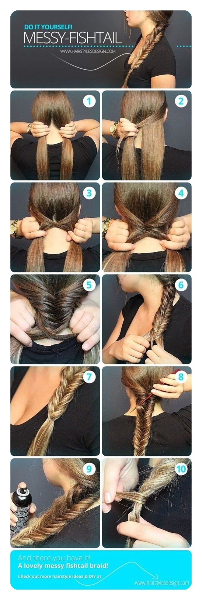 104 Easy Fishtail Braid Ideas And Their Step By Step Tutorial Style Easily