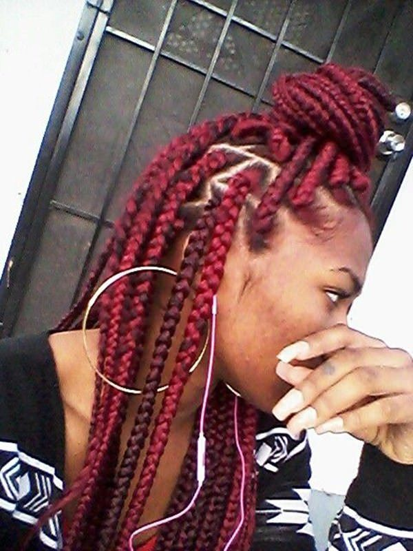110 Cool Box Braids Hairstyle For