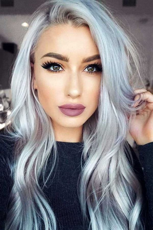 103 Cool Silver Hair For All Kinds Of Hair - Style Easily