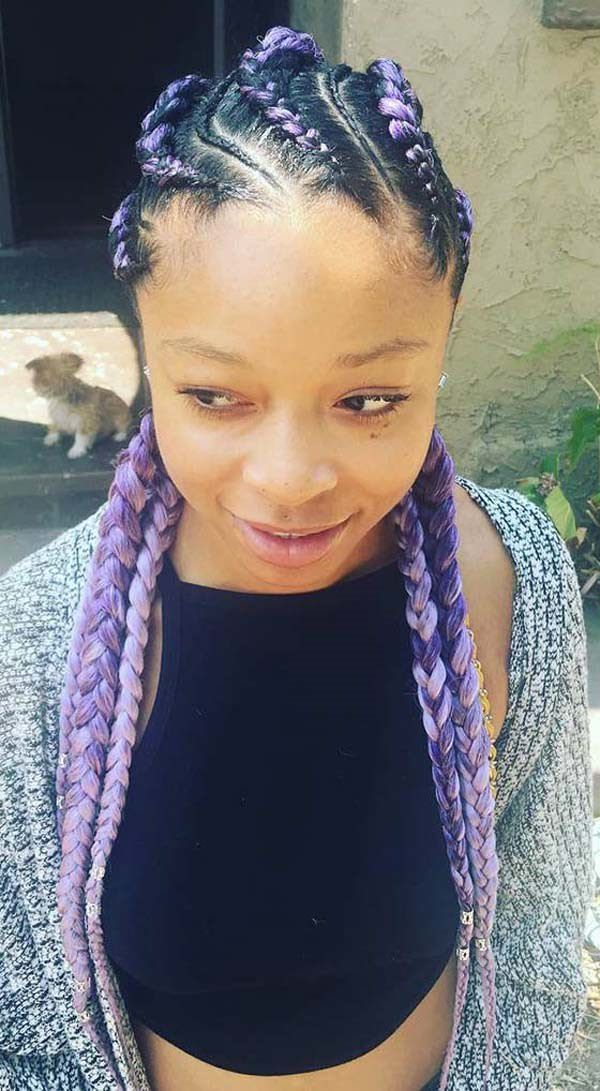 100 Bold Cornrow Hairstyles That You Will Love Style Easily