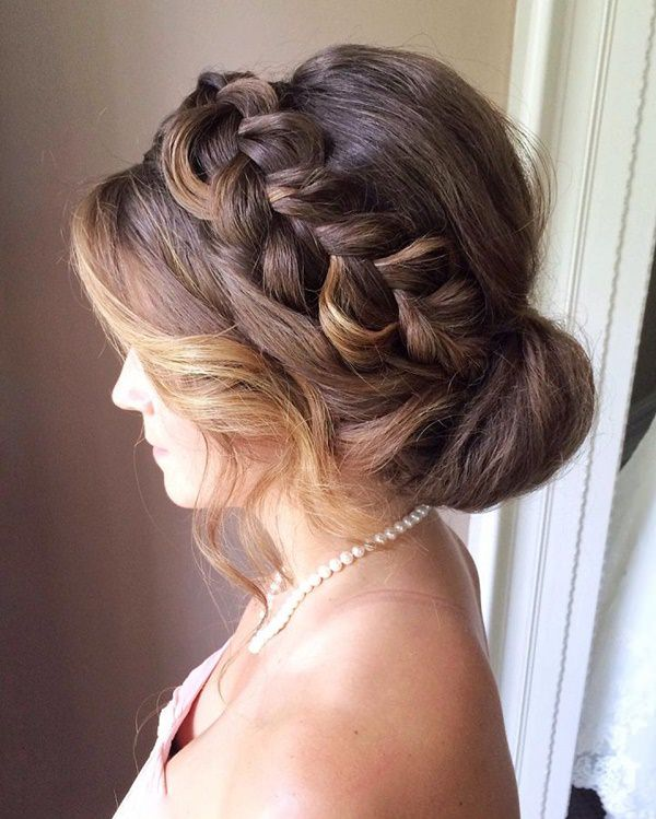 Astounding 101 Easy Braided Updo Hairstyles In 2020 Style Easily Natural Hairstyles Runnerswayorg