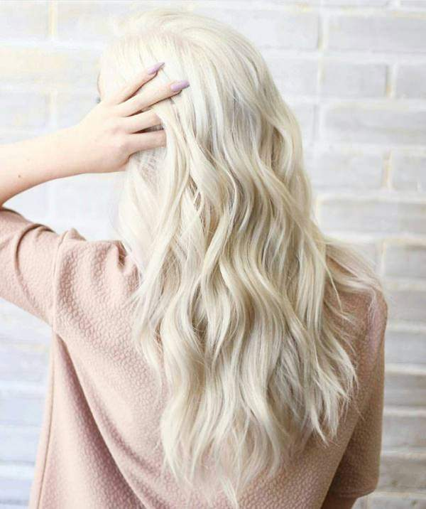 110 Shades Of Platinum Blonde Color To Die For