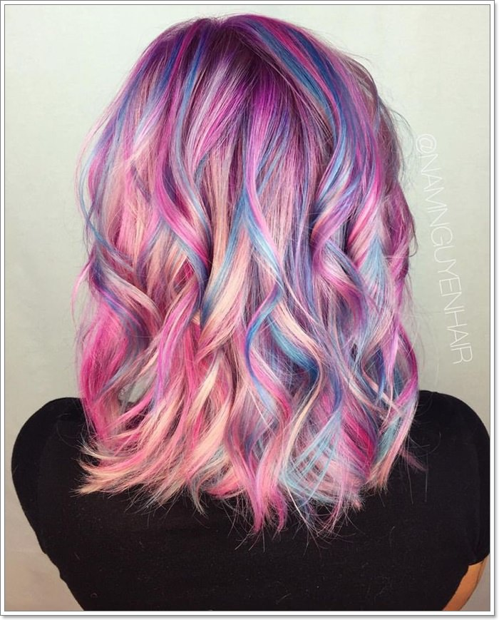 Unicorn Hair Ideas That Are Immensely Popular In 2019!